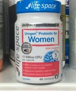 men vi sinh cho phu nu life space urogen probiotic for women 40 capsules kb