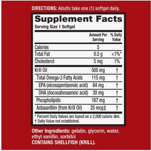 dau nhuyen the dau tom schiff megared superior omega 3 krill oil extra strength 500mg 80 softgels kg