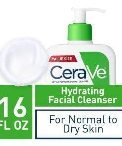 sua rua mat can bang do am cerave hydrating facial cleanser moisture balance 473ml kb
