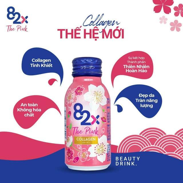 Collagen nước 82X The Pink Collagen 100ml Hộp 10 lọ – Wowmart VN | 100%  hàng ngoại nhập